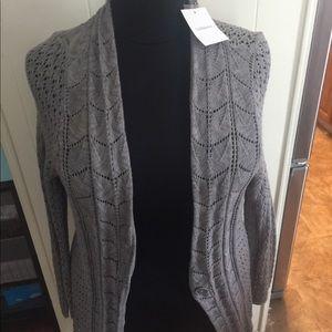 Plus Size cotton cardigan